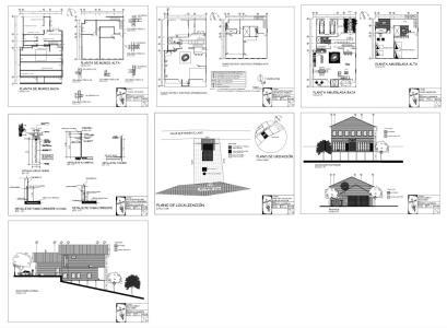 Yap sistemleri kategorisi autocad projeleri for Pdf planos arquitectonicos